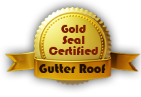 Gutter Roof Gold Seal